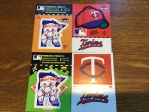 FORTY 1982 FLEER BASEBALL STICKERS MINNESOTA TWINS (4) DIFFERENT (10) EACH