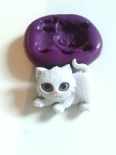 Playful KITTEN CAT Silicone Mould Sugarcraft Cake Decorate  Fondant Chocolate