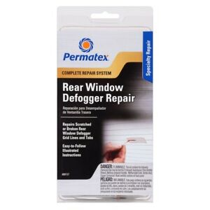 Permatex Complete Rear Window Defogger/Demister Repair Kit 09117