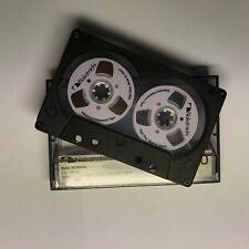 Nakamichi Audio Tape weiß Handmade Reel to Reel Cassette Kassetten Bänder