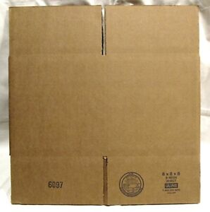 10x8x6 Uline shipping boxes -- pack of 5