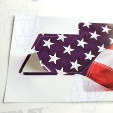 Chevy Bowtie Overlay Flag Decal PRECUT Silverado Tahoe Grille Emblem Skin Wrap