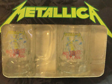 Metallica Official Mug Set And Justice For All Spencers Pick Vintage Collectable