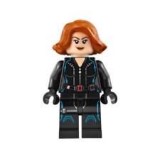 Lego Black Widow 76042 76032 76050 Short Hair Avengers Super Heroes Minifigure