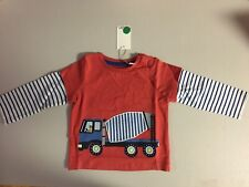 Baby Boden Truck Shirt Size (3-6 Months Of Age) 68cm
