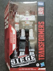 Transformers Earthrise Siege 35th Anniversary Megatron Animation new