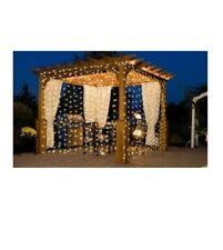 iMounTEK 300 LED warm white curtain string lights
