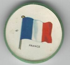 1963 General Mills Flags of the World Premium Coins #47 France