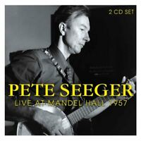 Pete Seeger - Live At The Mandel Hall 1957 [CD]