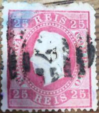 SELLO PORTUGAL  1870 REY LUIS I  USADO