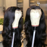 Brazilian Human Hair Wigs Body Wave 13X6 Deep Parting Lace Front Wig Pre Plucked