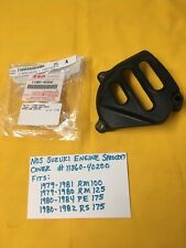 NOS SUZUKI engine sprocket cover 1979-81 RM100,1979-80 RM125, PE175,RS175 ,AHRMA