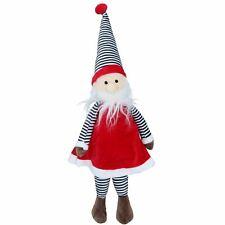 Dog Gift Christmas Festive Jolly Santa Soft Squeaky Plush Toy Present