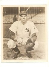 Vintage publicity photo Bill Dickey, New York Yankees