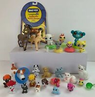 28 Piece Mixed Lot of Animal Figure Toys Littlest Pet Shop Paw Patrol Dogs More