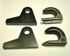 2er Set Koppelhaken Fanghaken Anschweißhaken Frontlader geschmiedet 110x40x85 mm
