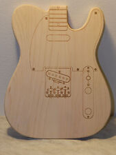 Guitar Maple Cutting Board from Clearfok Designs