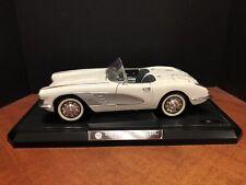 1/12 Solido 1958 Chevrolet Corvette White With Box EM4269