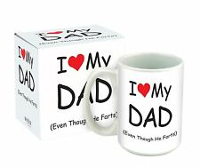 I Love My Dad Mug (15oz)