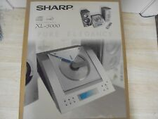 SHARP XL-3000 Complete Compact Audio System  VJ12001