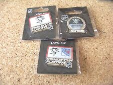 3 - Different 2015 Stanley Cup Playoffs pins NHL Pittsburgh Penguins pin