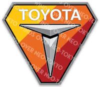 Toyota Trucks Heritage Colors Sticker Tacoma Tundra 4Runner TRD FJ
