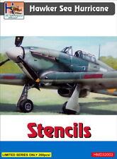 H-Model Decals 1/32 Hawker Sea Hurricane Stencils # 32003