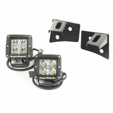 Rugged Ridge Windshield Led Square Light Kit Jeep Wrangler Jk 07-17 X11027.10