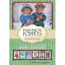 Crafters Companions PAINTBOX POPPETS WINTER COLLECTION Papercrafting CD ROM