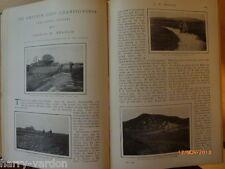 Les articles vieux illustré championnat amateur Golf 1904 Sandwich & pêche à la truite