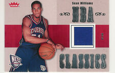 2007-08 FLEER NBA CLASSICS SEAN WILLIAMS GAME JERSEY