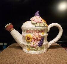 Oci Teapot florals water pitcher design vintage
