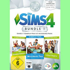 Die Sims 4 Bundle 1 Wellness Tag Luxus Party Sonnenterrassen EA Origin PC Code