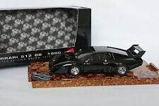 Brumm 1/43 - Ferrari 512 BB 1980 Black
