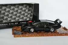 Brumm 1/43 - Ferrari 512 BB 1980 Noire