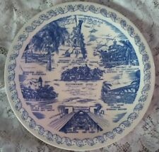 Collectible Vernon Kilns Plate ~ KEY WEST FLORIDA ~ Wonderful Imagery  & History
