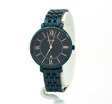 Women's Fossil Jacqueline Blue Stainless Steel Watch ES4094, New