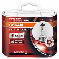 OSRAM H4 60/55W P43t Night Breaker UNLIMITED +110% mehr Licht 2St. 64193NBU DUO