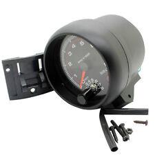 Portable 3.75'' Car Tacho Rev Counter Gauge Tachometer W/ Red LED RPM Light
