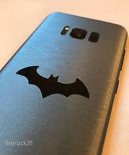 Samsung Galaxy S8+ (S8 Plus) Batman Injustice Decal Skin - Brushed Gunmetal