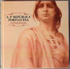 S1821) Portugal a 1a Republica Portuguesa Special Book 100 Years 2010 Ovp