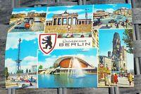 Salutations de Berlin Carte Postale 50er 60er Années Krüger 921/56 Å
