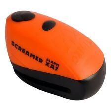 Oxford Schreier XA7 Motorrad Alarm Bremsscheibe Schloss orange/SCHWARZ 100dB
