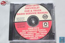 50-73 Chevy Car Truck Pickup Radio Service Manual 66-73 Delco Service Manual New