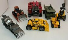 Lot of 7 Transformers Studios Series Constructicons ~ RAMPAGE ~ LONG HAUL ~LOOSE