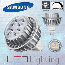 5 x Samsung DIMMABLE 7w MR16/GU5.3 LED 40D Spot Light Bulb Neutral White 4000k