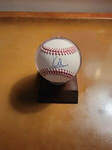 Kenny Lofton Cleveland Indians Autographed Baseball- Steiner Cert