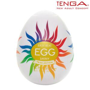 Tenga Egg Shiny Pride Edition Disposable Masturbator Masturbatore A Uovo Monouso