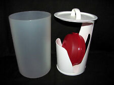 Tupperware Bagel Stor Round Bakery Keeper/Dispenser plus Round Sandwich Keeper