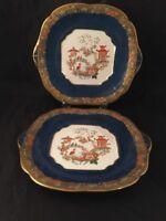 Ehughes&Co China Staffordshire England Japanese Chinese Oriental Style